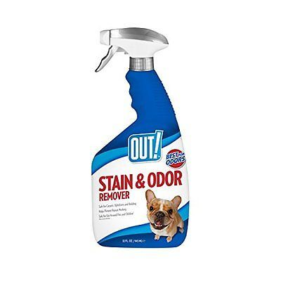 BEST 32oz Multi-Purpose Safe Cleaner Pet Stain Cat Dog Urine Odor Remover