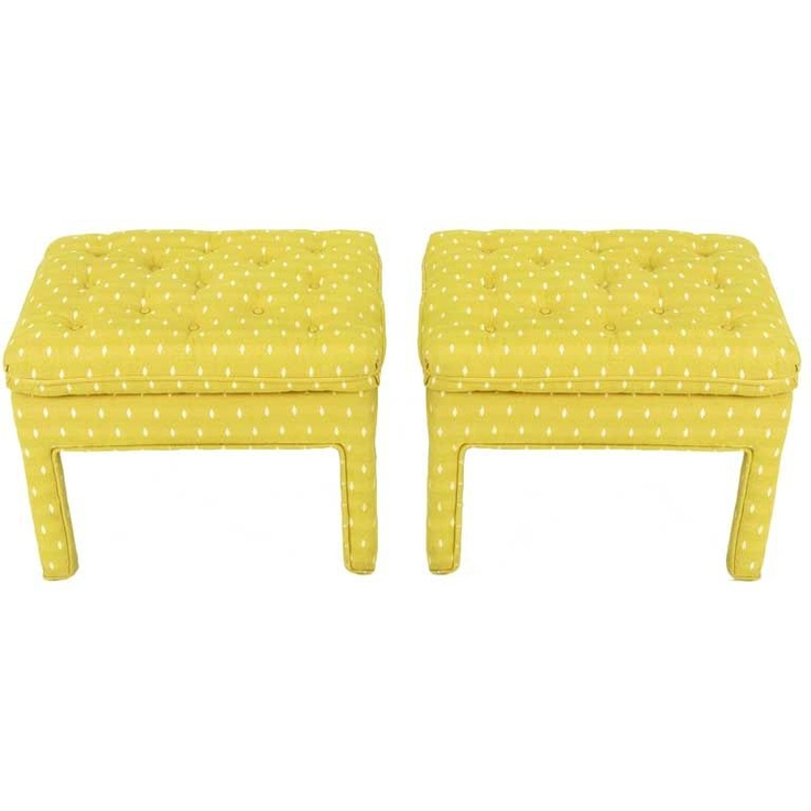 127 Best Ottomans Benches Amp Stools Images On Pinterest