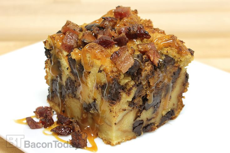 ... Bread Pudding. | Bacon Desserts | Pinterest | Bacon, Ice and Bread