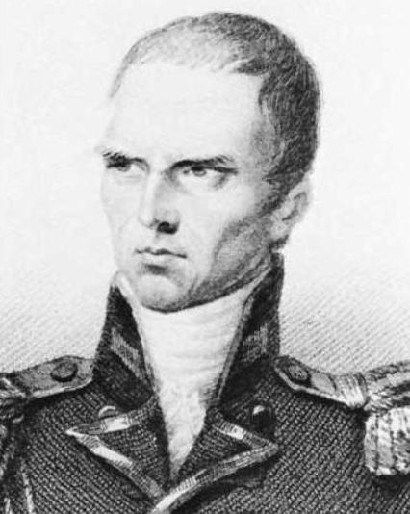Sir Hudson Lowe (1769-1844), gouverneur de l'ïle deSainte-Hélène