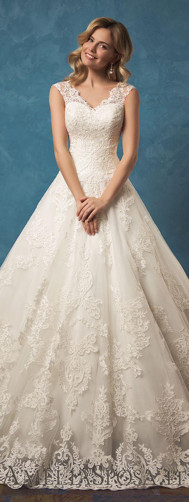 White dress design 2017 - Amelia Sposa 2017 Wedding Dress