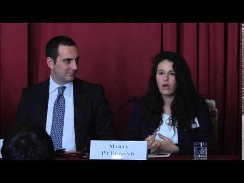 Marta Pietrosanti studentessa coordinamento Pidida