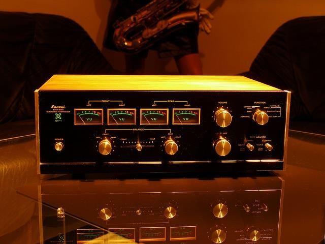 Sansui QS-1 ,Vintage Audiophile Quadraphonic Synthesizer