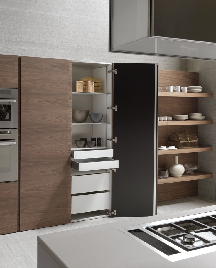 17 best images about modulnova kitchens interior for Modern kitchen pantry