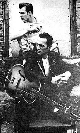 Joe Strummer and Paul Simonon The Clash