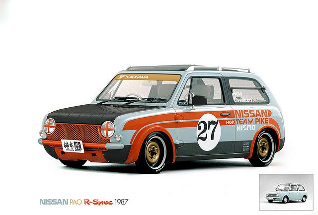 Nissan Pao Pike R-spec | Flickr - Photo Sharing!