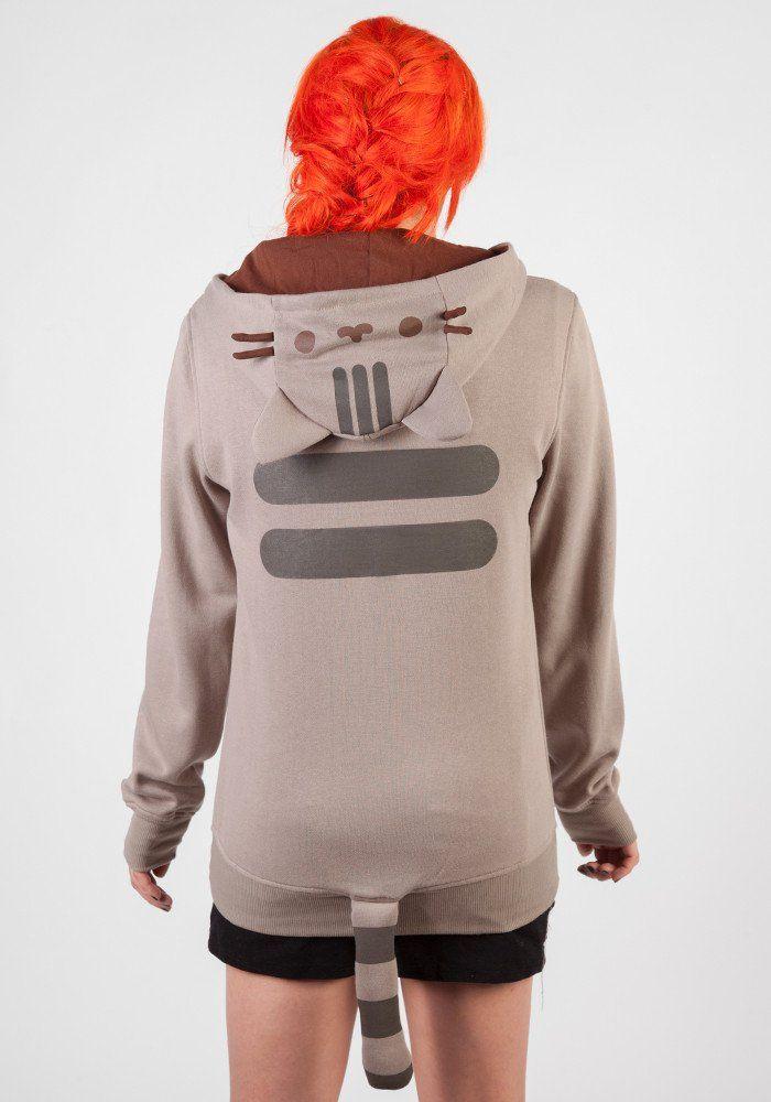 PUSHEEN Pusheen Costume Zip Hoodie