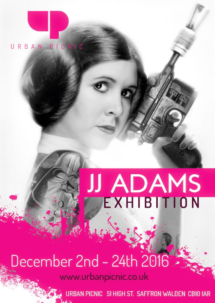 """JJ Adams Exhibition, December 2nd - 24th 2016.  """"JJ Adams is the Zappa or Hendrix of the UK Fine Art scene. I no longer walk past a gallery without looking in, he's taken icons and buildings we know so well and added a drop of his own brand of LSD"""".   Ope"""