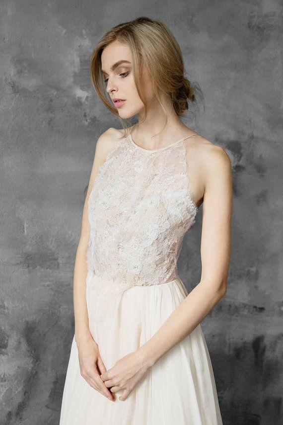 Les 25 meilleures id es de la cat gorie robe avec haut en for Robes de mariage double baie