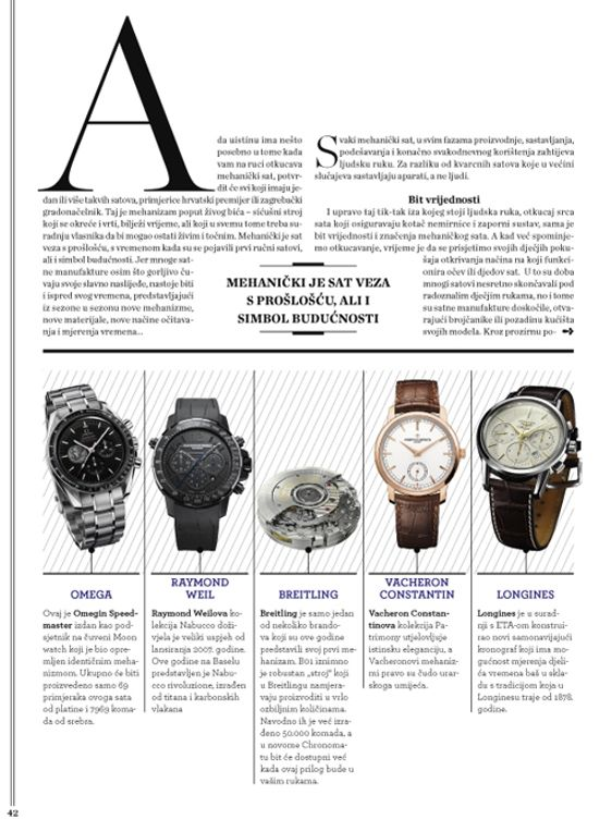 Watches Editorial Designs