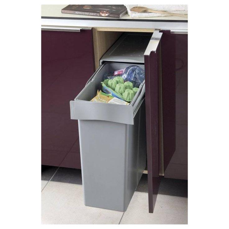 Les 22 meilleures images du tableau poubelles pour meuble bas accessoires de sur - Poubelle cuisine etroite ...