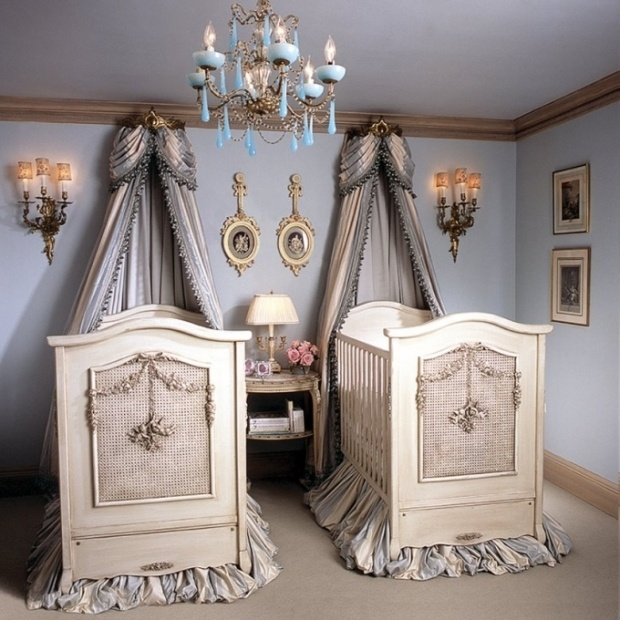 Gorgeous cribs!Ideas, Twin Room, Twin Girls, Twin Baby, Twin Nurseries, Baby Room, Kids, Babies Rooms, Baby Nurseries