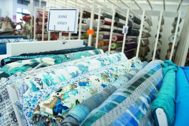 Tissus habillement jersey à Wesserling (boutique de couture en Alsace près de Mulhouse)