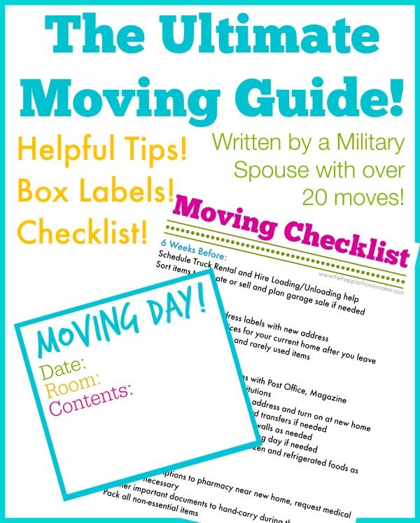 315 best Moving tips! Because itu0027s inevitable! images on Pinterest - moving checklist