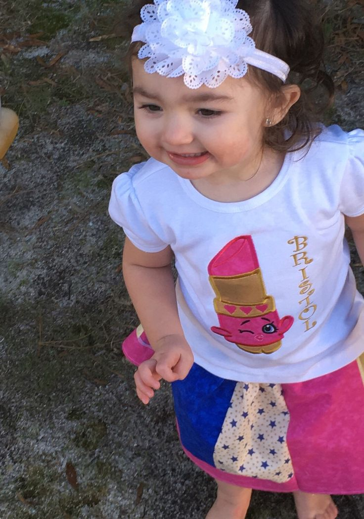 Shopkins Lipstick Birthday Outfit | Lipsticks Shops And Birthday Outfits
