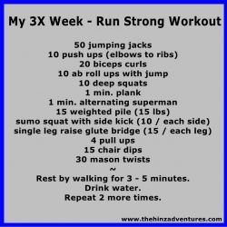 Strength Training for Runners: Run Strong Workout