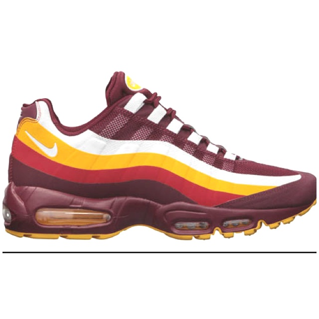 ... italy the new nike draft pack signature shoes for the washington  redskins. air max 95nike f0b0b216bb