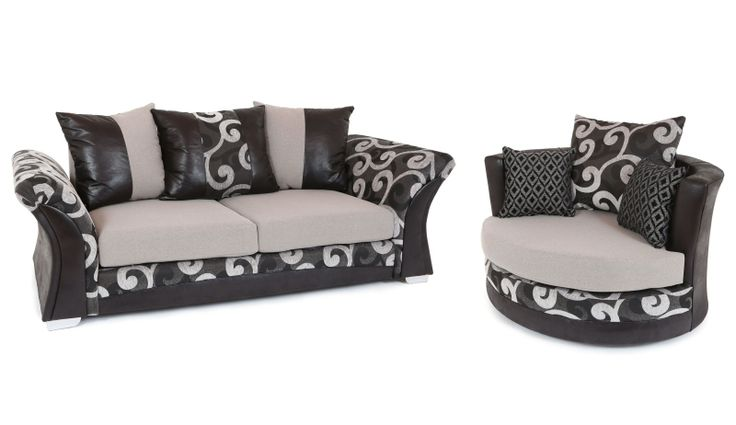 With a contemporary styled design and a striking contrast of textures, shapes and quality fabrics, this brand new British made sofa makes a sophisticated addition to any living space. The Zoe sofa is available in a 3 + standard cuddle chair set in various colour fabrics for just £419. Tel: 07446824535 (Mon-Sun 9am to 9pm) Tel: 0161 620 6517 (Mon-Fri 9am to 6pm)