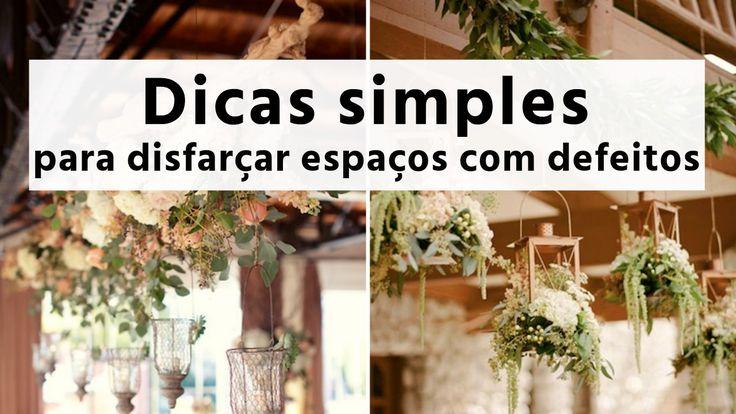 Com alguns detalhes simples, você descobre como decorar um salão para casamento gastando pouco