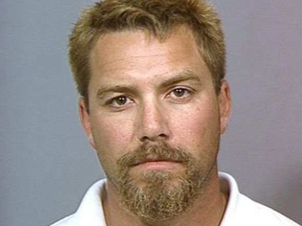 Scott Peterson was convicted of murdering his wife and unborn son back in 2002. When he was arrested he was allegedly trying to escape to Mexico and had colored his hair.