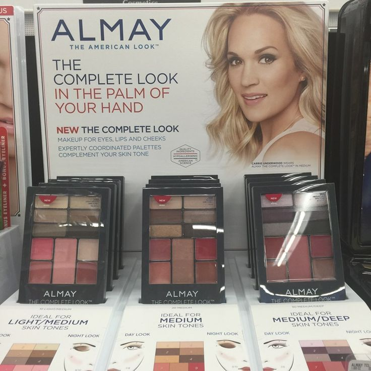 Almay the Complete Look Coordinated Makeup Palettes Spring 2017