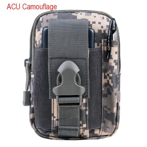 Mens Military Waist Packs Military Purse Mobile Phone Packs Famous Brand Waterproof Nylon Military Wallet Pocket Organizer X577