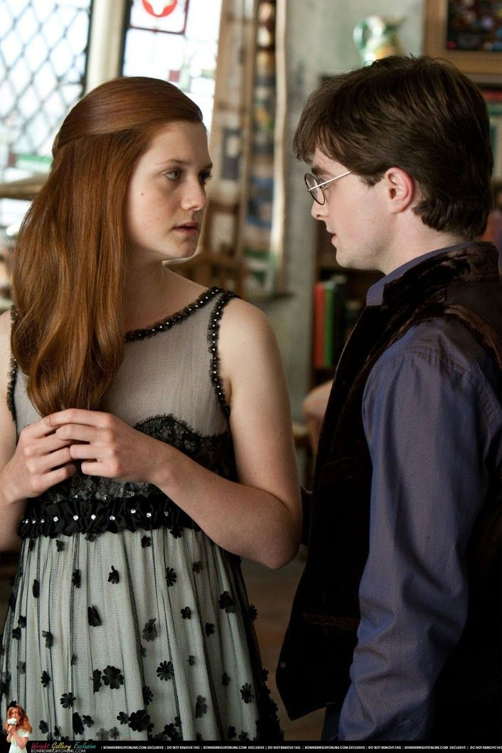 Sign In Harry Potter Ginny Bonnie Wright Harry And Ginny