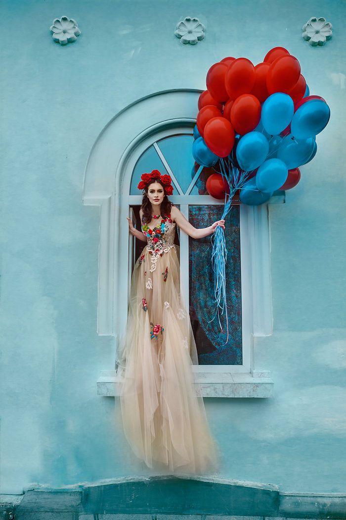 Fairytale Scenography For Fashion Editorials by Chotronette (aka Silvia Chiteala & Laura Cazacu)