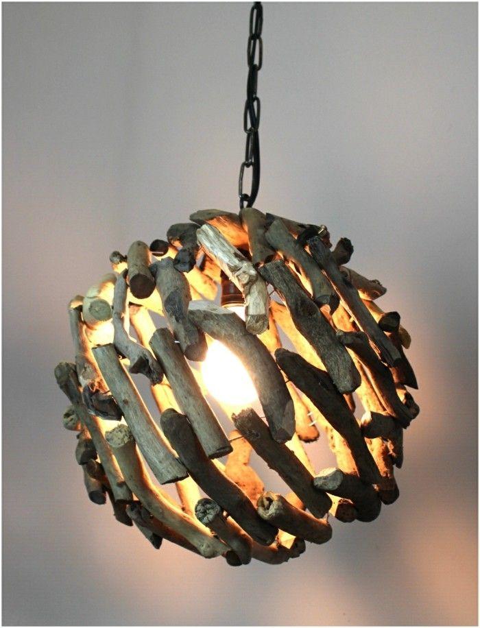Nachdem Wir Mehrfach über Lichtobjekte Und Möbel Aus Pappe Berichtet Haben,  Stellen Wir Ihnen Heute Die Treibholz Lampe Vor  Ein Objekt Mit Funktion Und