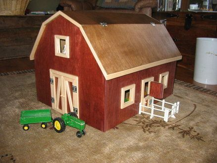 Free Wooden Toy Barn Plans Woodworking Projects Amp Plans