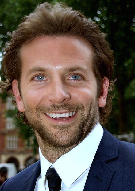 A photograph of Bradley Cooper attending the premiere of his film, The Hangover (2009)
