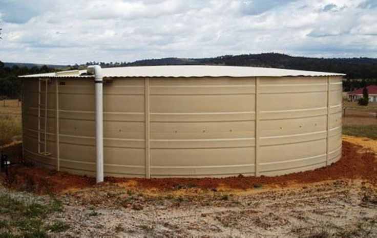 Water tanks for agricultural use