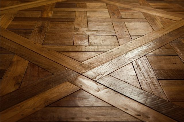 Vintage versaille parquetry made from recycled teak sourced in Central Java. #RecycledWood #recycledtimber #recycledfloors #recycledflooring #recycledwoodflooring