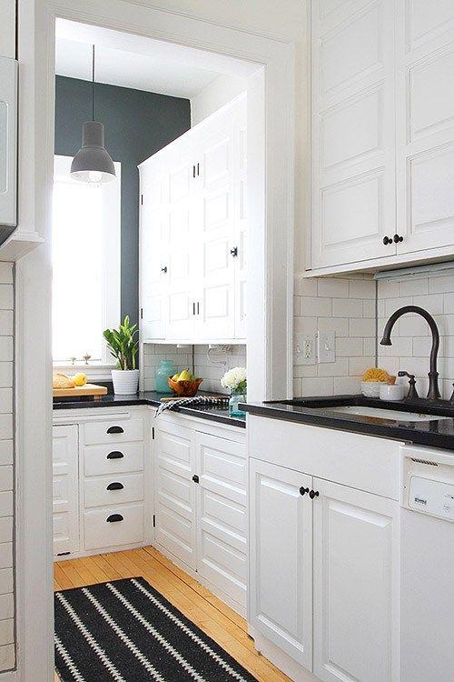 Antes/después – reforma de una cocina con pintura