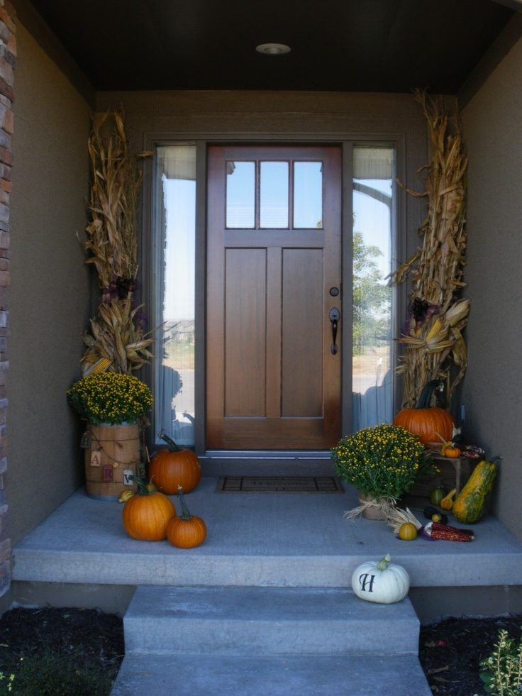 one of those nice front doors...