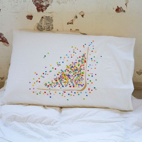 Fairy Bread Pillow Case http://missmollycoddle.co.nz/collections/little-home?page=2