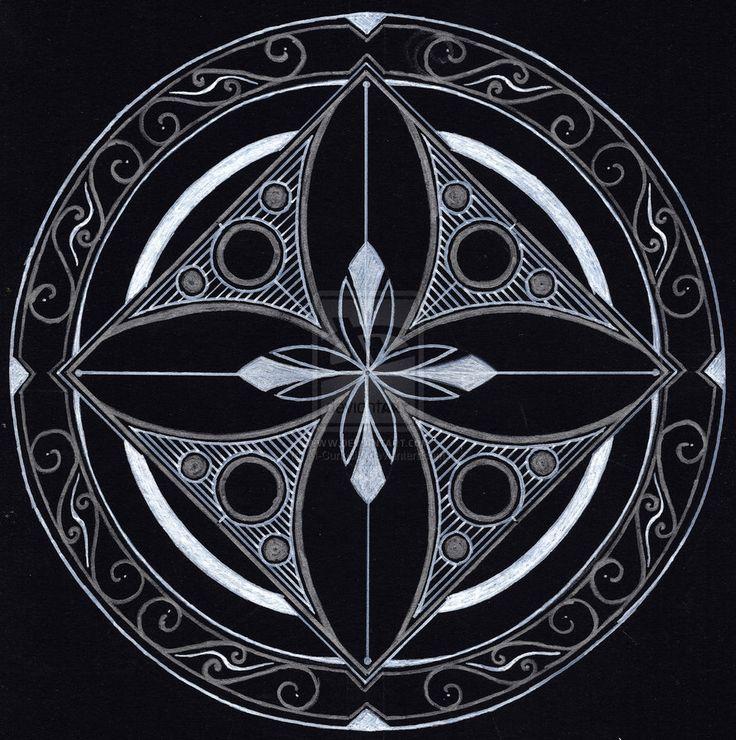 Black'n'White Mandala by M-Curiosity on DeviantArt