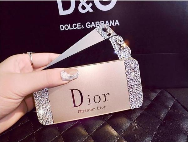 coque dior iphone 7 plus | Iphone 5s covers, Rose gold diamond ...