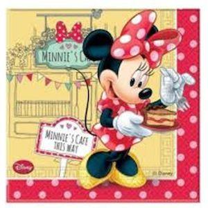 24 Kişilik Minnie Mouse Doğum Günü Parti Seti Lux - Doğum Günü Süsleri   Nice Yaşlara