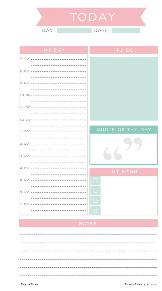 best 25  daily planners ideas on pinterest