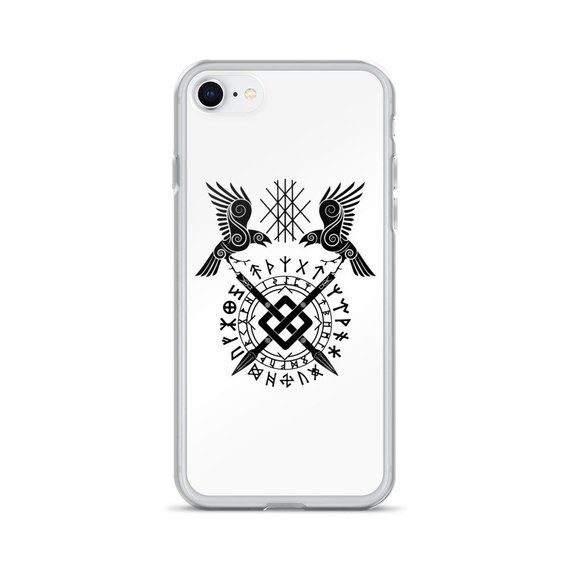 Twin Ravens of Odin | Norse Viking Sign | Iphone 6/6+/6S/6S