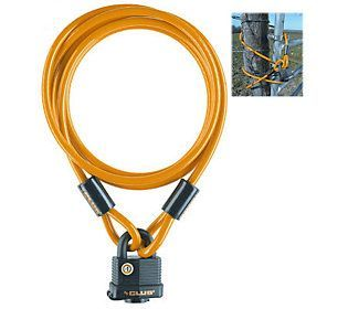 The Club 5' Security Cable with Weatherproof Padlock