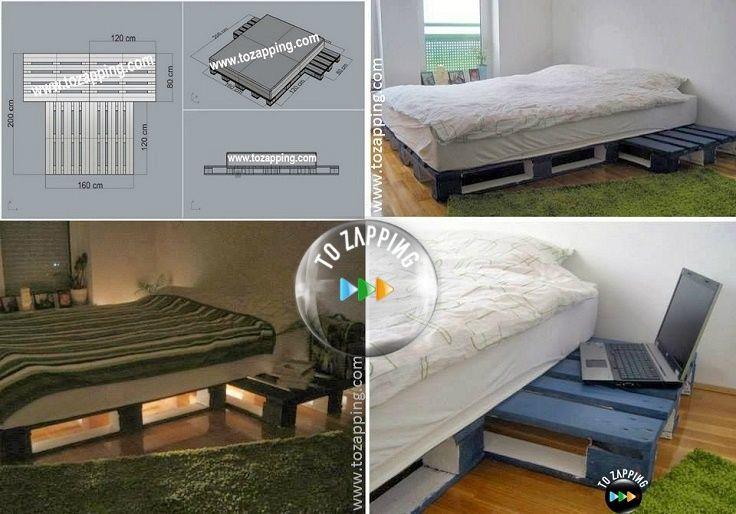 C mo hacer camas con palets paso a paso hoy presentamos - Camas estilo japones ...