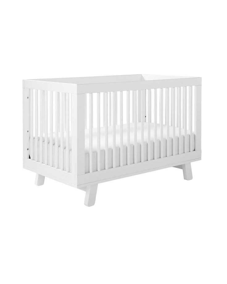 $395 Super simple and sophisticated, this is a nice alternative to traditional crib design. The subtle flair of splayed legs add a nice touch to the mid-century look. We love it with the palest of palettes or colors bold and bright.