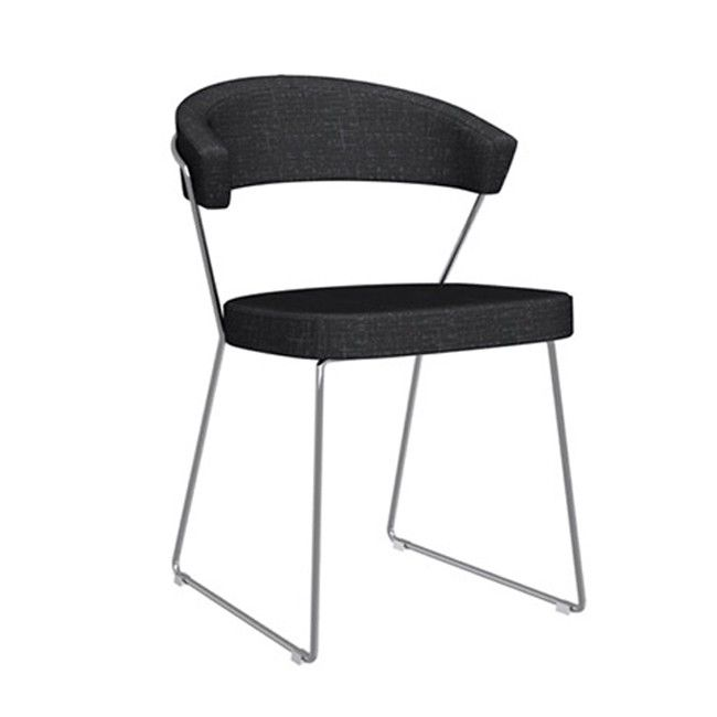 Calligaris Set 2 Chairs synthetic fabric New york
