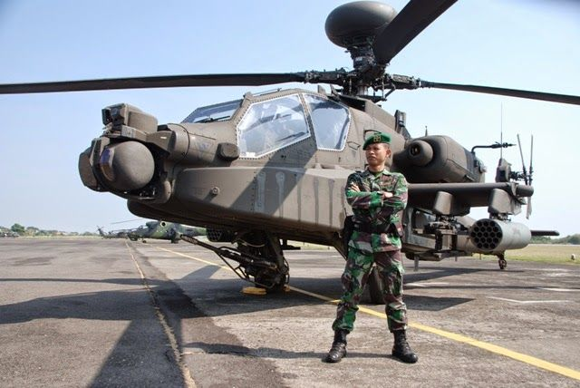 Indonesian Army Apache AH 64 E