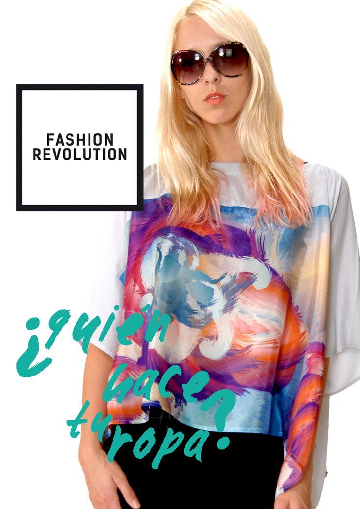 WMYC 24.04 Associació Moda Sstenible Barcelona Fashion Revolution Day #pasarelasostenible #insideout #whomadeyourclothes