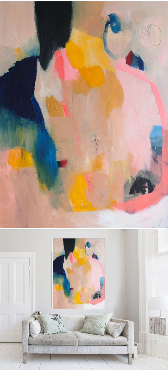 Lola Donoghue abstract large-scale prints