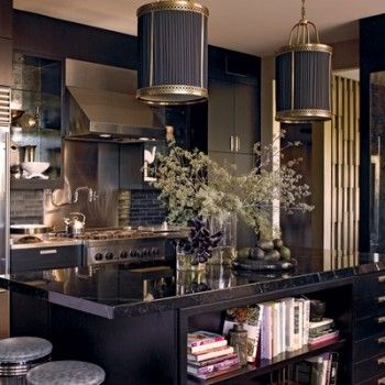 Black and gold kitchen deco pinterest for Black and gold kitchen