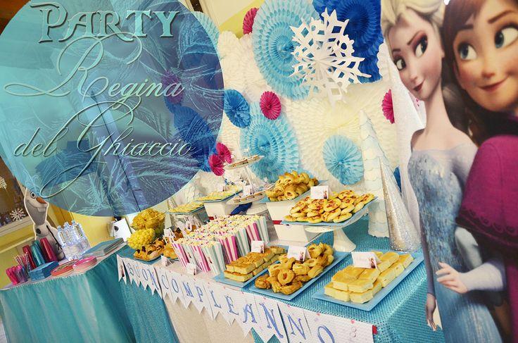 http://www.sweetnessandco.it/party-regina-ghiaccio/ #frozen party,#frozen, #partydecoration
